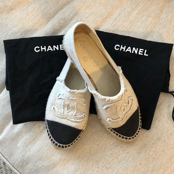 CHANEL Shoes   Chanel White And Black